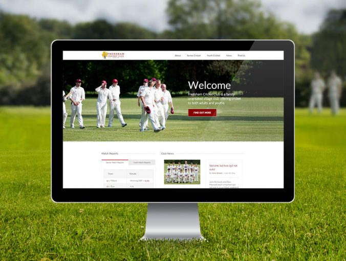 Frensham Cricket Club Website