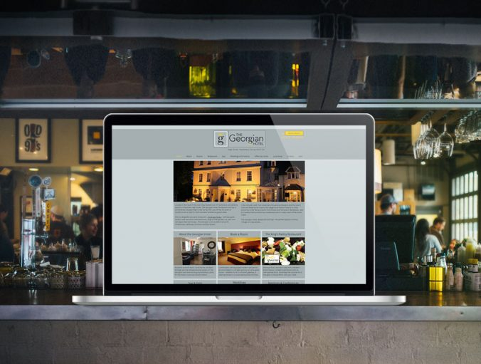 The Georgian Hotel Website