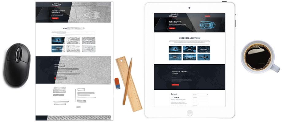 Website Design Feature